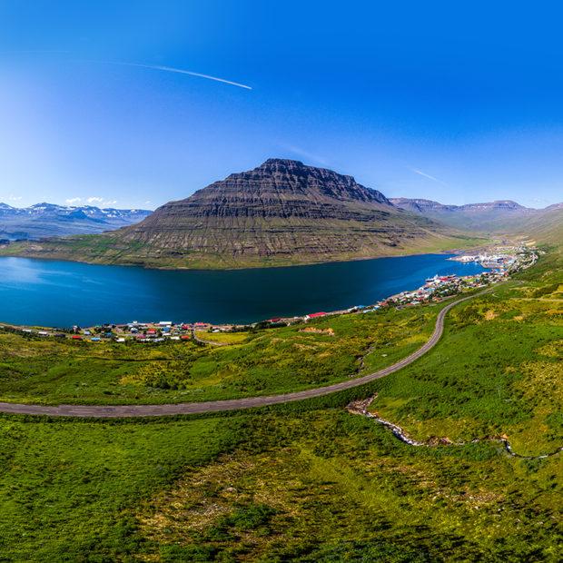 Eskifjordur in the Eastfjords