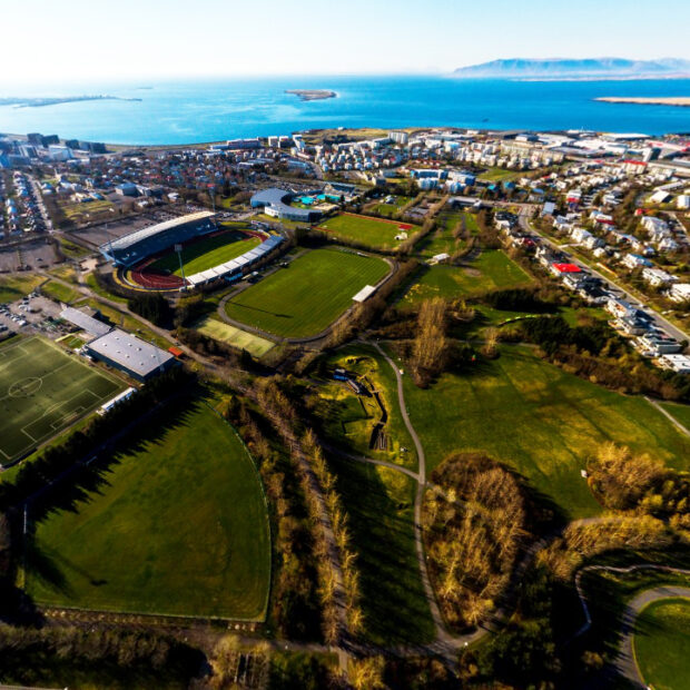 laugardalur sports valley in reykjavik iceland