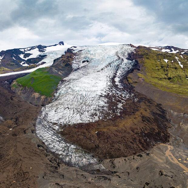 Falljokull (Falljökull) glacier