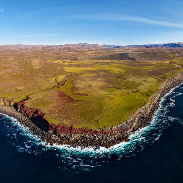 photo of krysuvikurbjarg sea cliffs