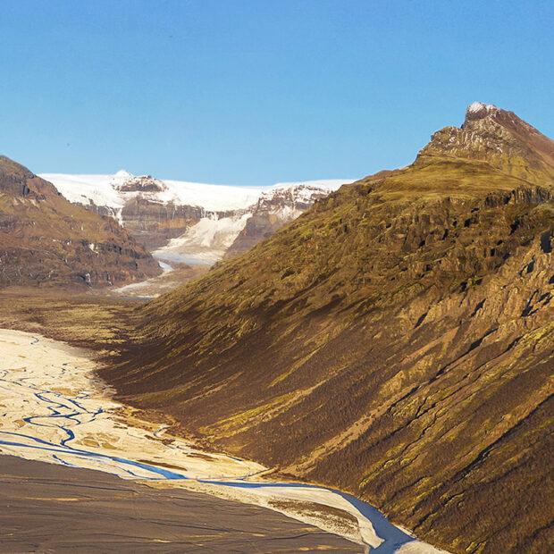 morsardalur valley by skaftafell national park iceland