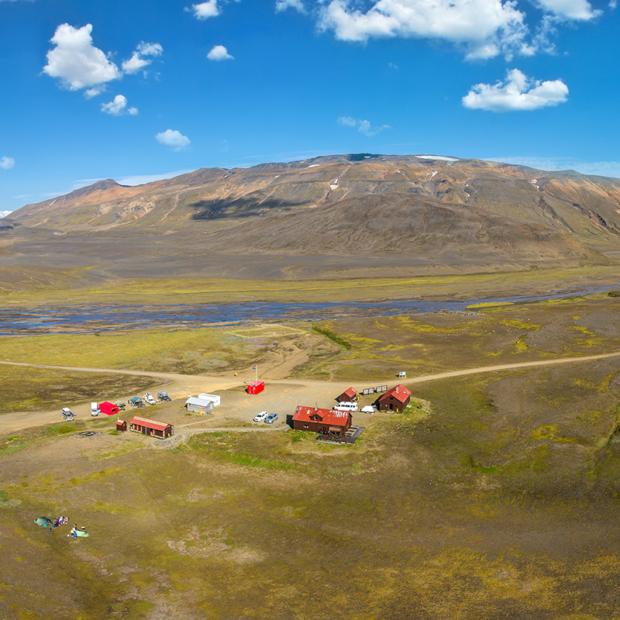 photo of nyidalur Nýidalur mountain hut iceland