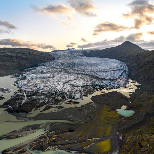 photo of skalafellsjokull south iceland