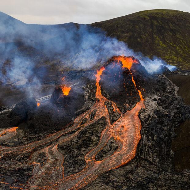 geldingadalur volcanic eruption