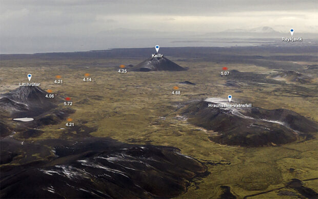 fagradalsfjall earthquakes reykjanes iceland